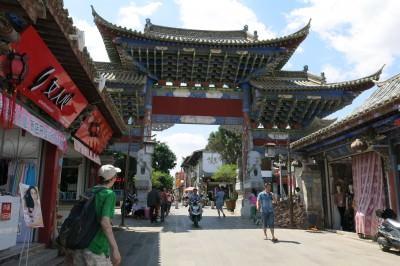 Jonny Blair in Jianshui Old Town China