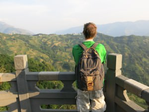 jonny blair in yunnan yuangyang rice terraces