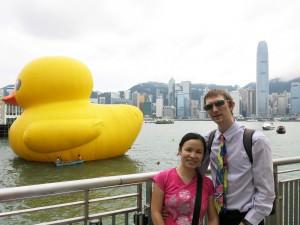 duck in hong kong