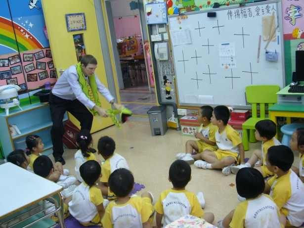 A lifestyle of travel teaching english in hong kong