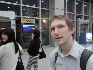 jonny blair on a flight