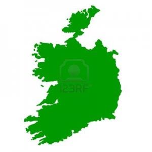 map of irish republic