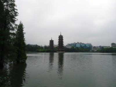 fir lake shan lake guilin china