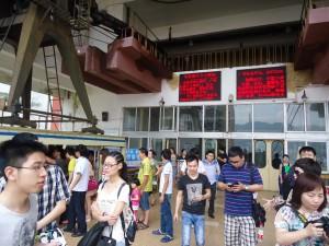 chongqing cable car across the yangtze