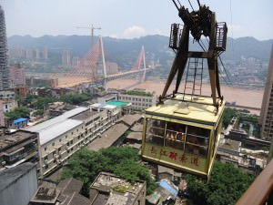 chongqing cable car china