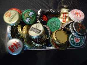 bottle tops for beer to collect
