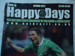 happy days northern ireland fanzine
