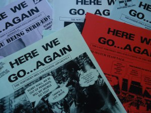 here we go again northern ireland fanzines