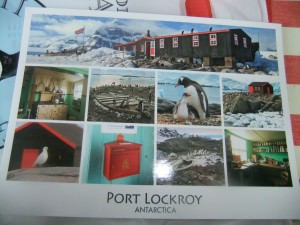 port lockroy postcard