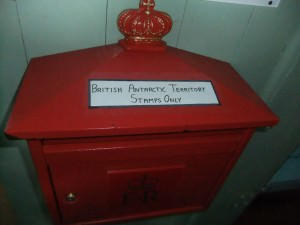 postbox at port lockroy