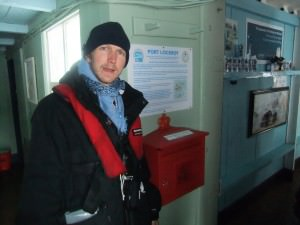 port lockroy postbox