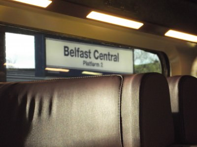belfast central station northern ireland