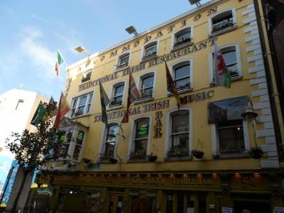 dublin irish pubs train