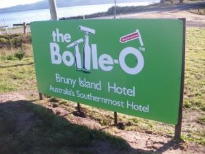 bruny island hotel sign