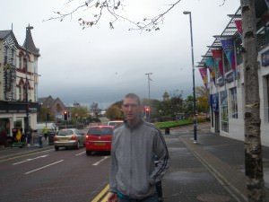 bangor main street northern ireland county down jonny blair