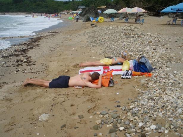 kenting beach taiwan hot sun