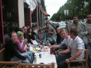 hostel night paris