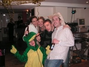 fancy dress as a frog