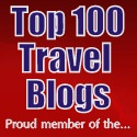 Featured on top 100 travel blogs