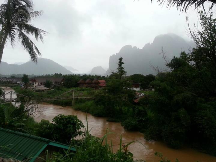 money in the river in laos