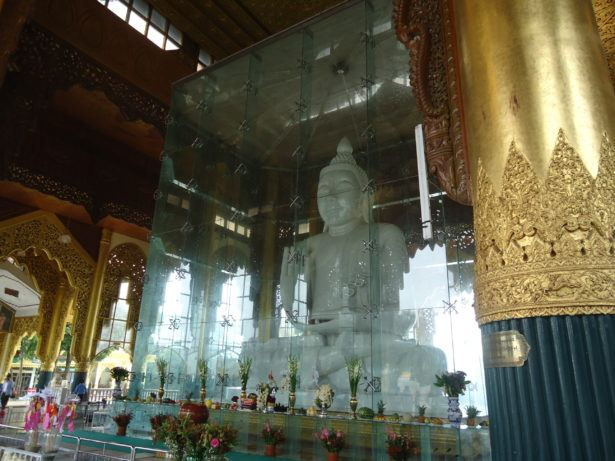 marble buddha yangon