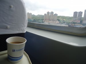 coffee on hong kong to zhuhai ferry