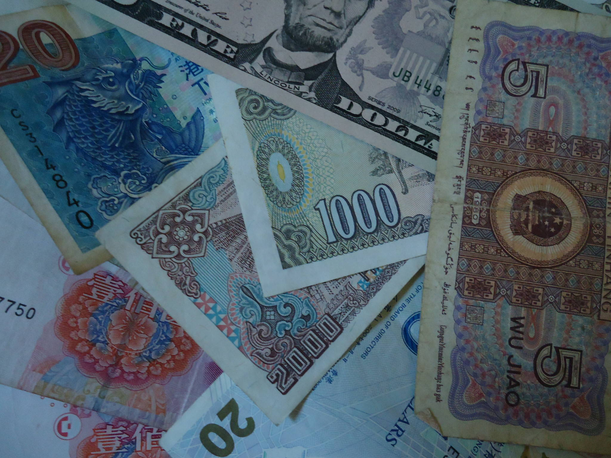 banknotes by jonny blair