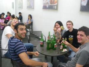 martin and jonny party in jakarta