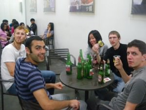 7 11 beers with the hostel dudes