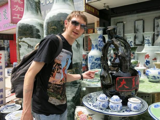 china town ceramics in jingdezhen