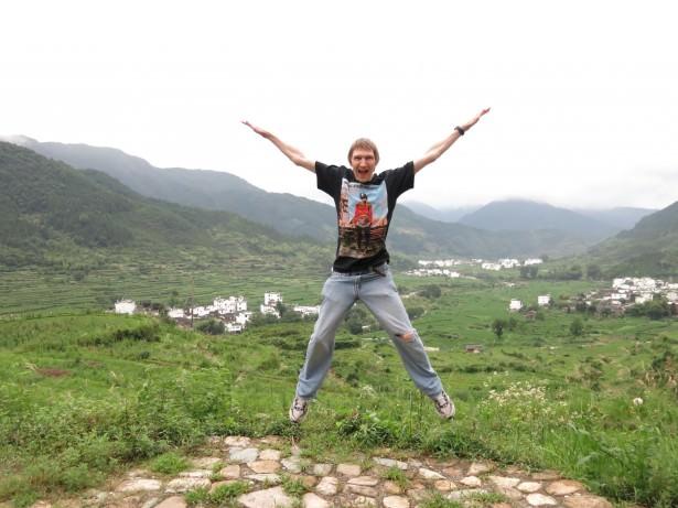 jianglng villages viewpoints china