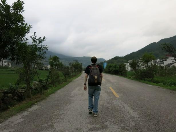 backpacking in jiangling jiangxi province china