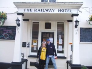 blandford forum railway hotel