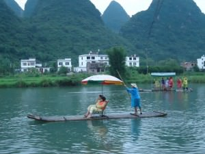 yuLong river in china