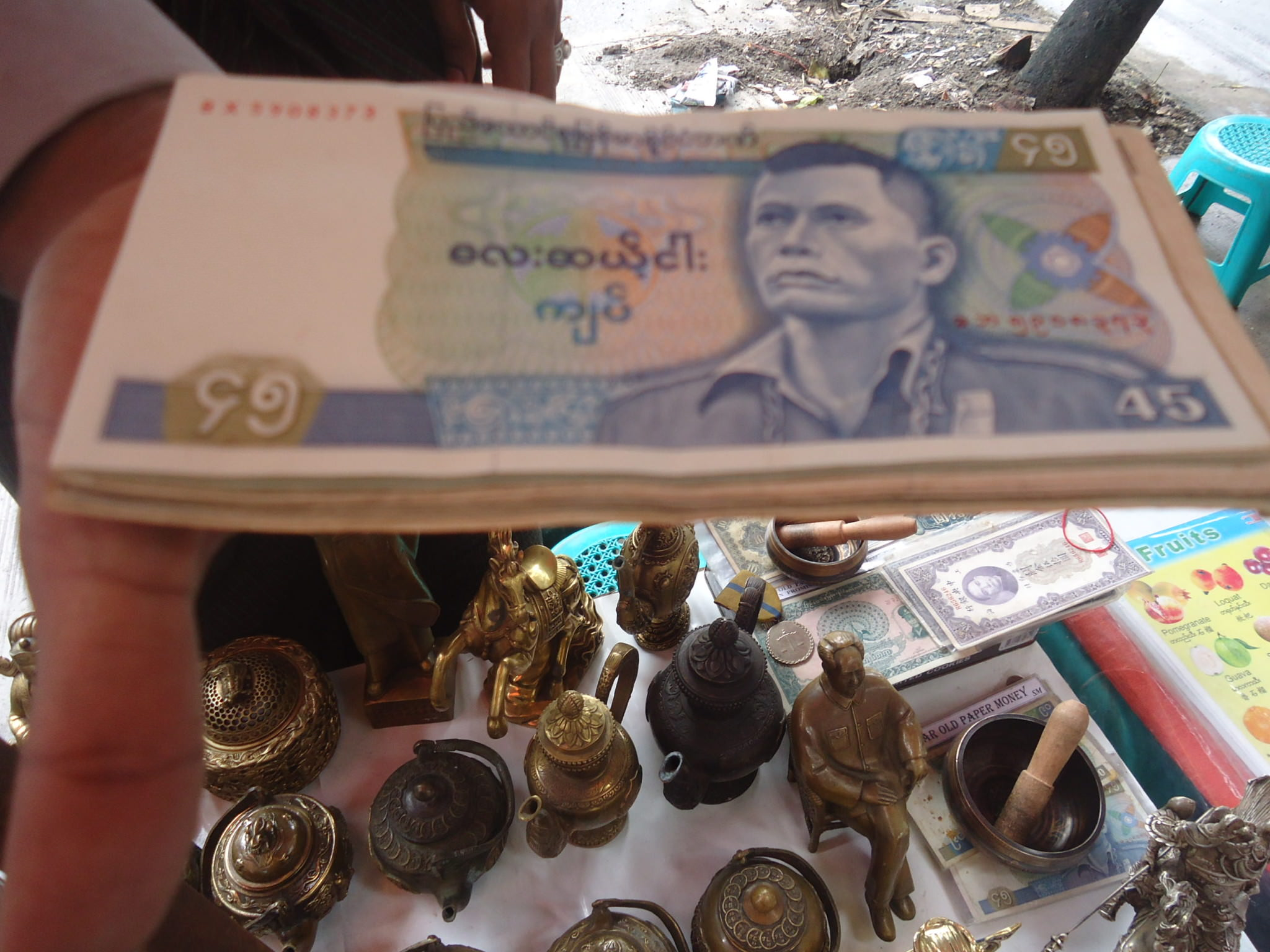 money black market in yangon