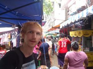 jonny blair in myanmar yangon