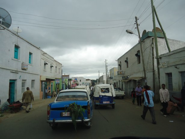 backpacking in harar