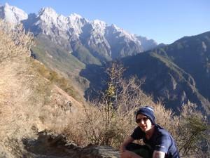 hiking in Yunnan China