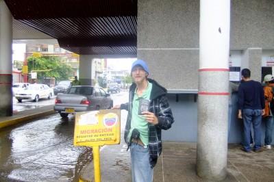 arrival in venezuela