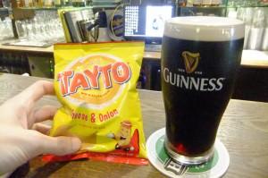 irish pubs tayto guinness