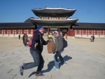Jonny Blair in Seoul