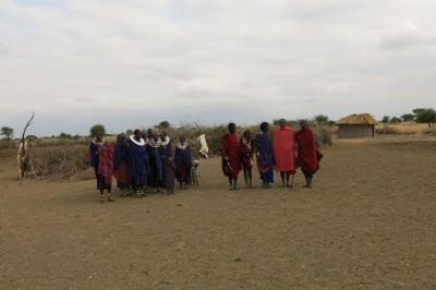 maasai tribe in rabatt