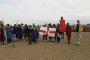 Maasai dance greeting song