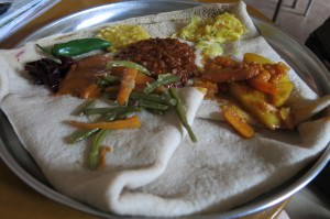 vegetarian combination addis ababa