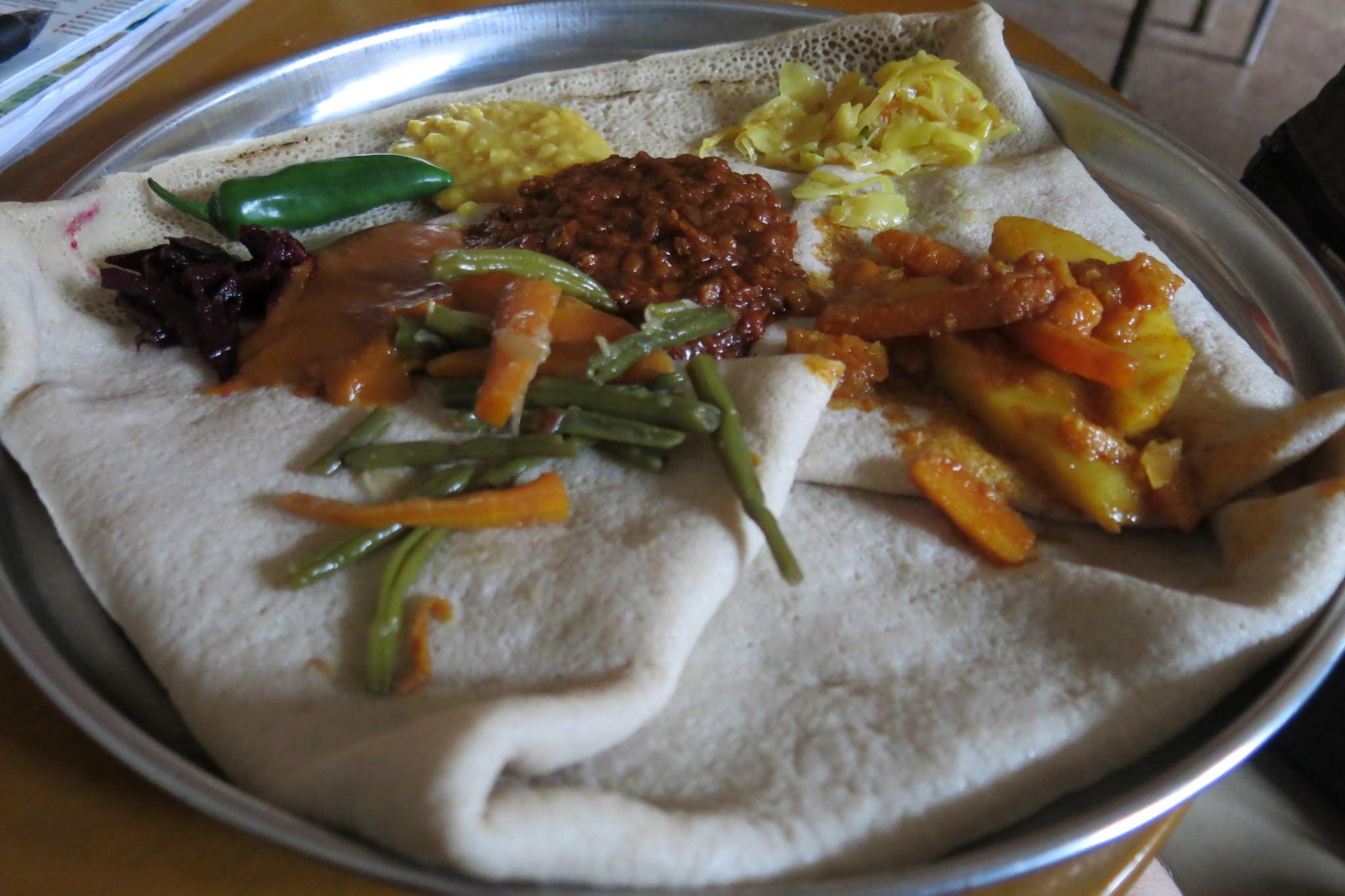 vegetarian combination addis ababa