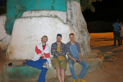 peter and feder in ethiopia