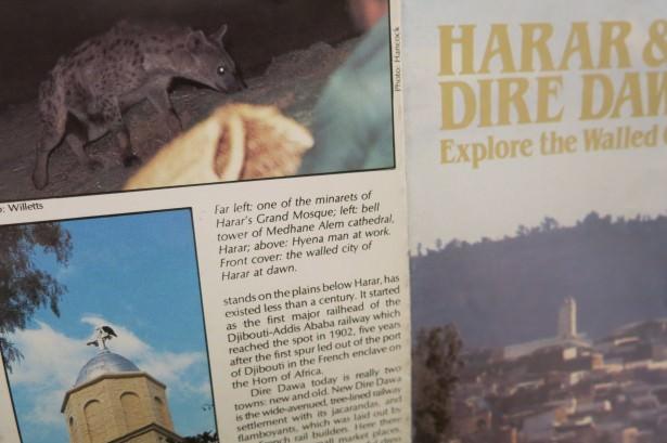 tourist brochures harar hyena feeding ethiopia