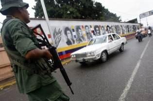 orange juice and guns in venezuela