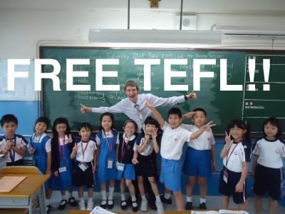 free TEFLs in China