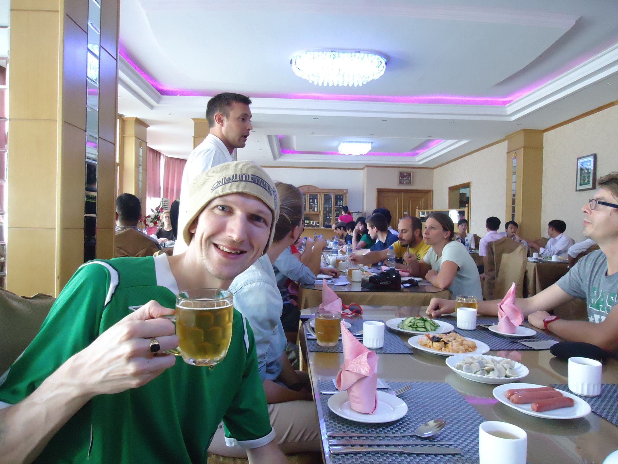 beer in north korean pyongyang jonny blair